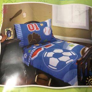 Everything Kids by Nojo 4-pc toddler bedding set